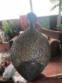 black and brown floral sofa chair Oakland, 94603