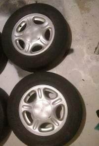 Set of 2 Ford wheels and tires  South Ogden, 84403