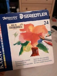 Staedtler water colour pencil crayons Toronto, M3A