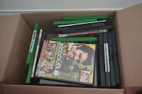 Xbox One game case , movies Manassas, 20110