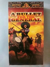 A Bullet for the General vhs