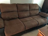 Ashley Reclining Sofa  Calgary, T2S 1Z7