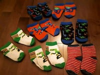 toddler's assorted pairs of socks Montréal, H3E 1S4