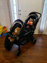 black and red stroller and car seat carrier Newport News, 23604