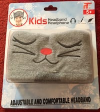 Gray Cat Headband Headphone NEW Adujustable Comfortable(pick up only) Alexandria, 22315