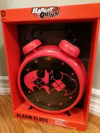 red and black Mickey Mouse analog clock Toronto, M1C 1J3