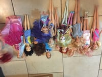 assorted Disney Frozen character toys Vancouver, V5S