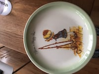 Holy Hobbie collector plate