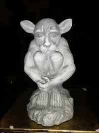 VINTAGE GARGOYLE HANDCRAFTED FIGURE CLEAN 6 in TALL