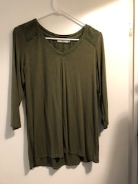 Army green shirt London, N6K 2R3