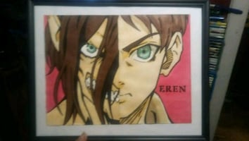 Attack on titan custom painting