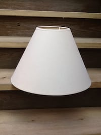 """Beige Linen Lamp Shade - 13"""" Tall - Excellent Condition Chicago, 60622"""