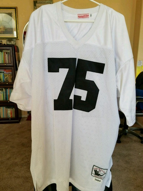 new arrival a546c 348d7 1989 Raiders Howie Long Mitchell & Ness Jersey