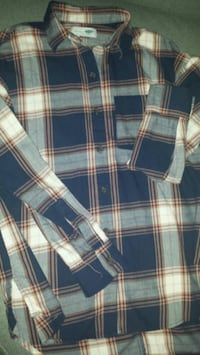 Oversized Button Up Flannel Virginia Beach, 23456