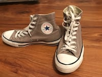 Pair of brown-and-white converse all-star high Summerville, 29485
