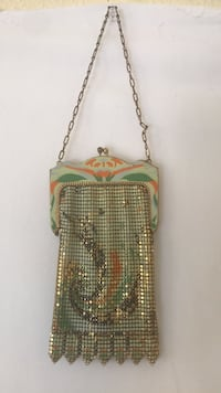 antique 1930s whiting and davis  mesh. bag Winters, 95694