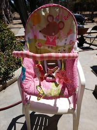 baby's pink and white bouncer Menifee, 92584