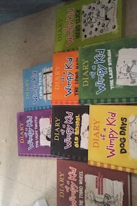 Diary of a wimpy kid books all hard cover except old school  Guelph, N1E 3P2