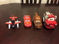 Disney cars set  31 km