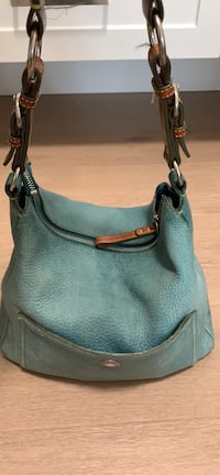 COACH shoulder purse in turquoise  Burnaby, V5B 1V6