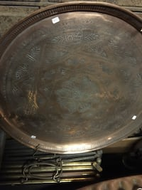 Brass Middle Eastern Tray. Many more available , 02464