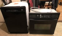 Dishwasher and electric wall oven  148 mi
