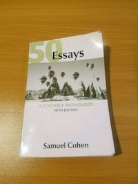 50 Essays: A Portable Anthology 5th edition New Haven, 06511
