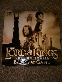 The Lord of the rings the two towers board game