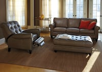 Leather couch Martha Stewart collection  Bethesda, 20814