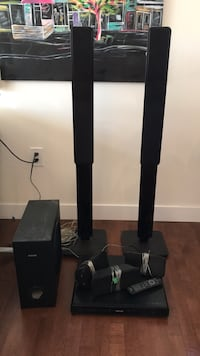 Home theatre surround sound system New Westminster, V3M 2E7