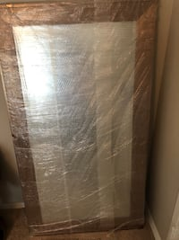 Gold framed large mirror 31 width 54 inches length