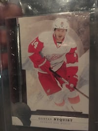 Gustav Nyquist trading card Guelph, N1G