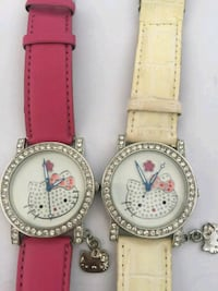 Hello kitty round watches 2 on sale  Sterling
