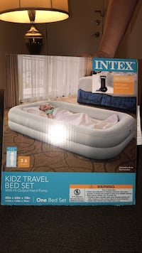 white and gray Intex inflatable pool box Derwood, 20855