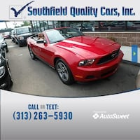 2012 Ford Mustang Detroit, 48235