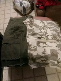 Mens shorts Route 66. And 626 Blue Houston, 77034