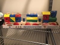 NEW Melissa & Doug Stacking Train Toddler Toy Ashburn, 20147