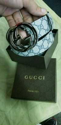 black Gucci leather belt with box Fresno, 93705