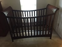 Child Craft Coventry convertible crib with toddler rail Tampa, 33624