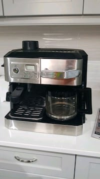 2 in 1 coffee maker and espresso machine.