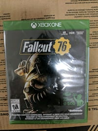 Fallout 76 brand new sealed in box Xbox one Coquitlam, V3J 4A5
