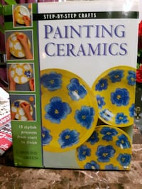 Step-by-step crafts Painting Ceramics book