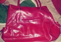 Red Leather Purse Modesto, 95350