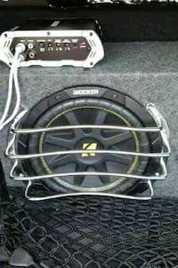 "Two 10"" Subwoofers with amp and wiring Annapolis, 21409"