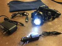GRDE Zoomable 3Modes Super Bright LED Headlamp w/rechargeable Batteries  Bakersfield, 93309