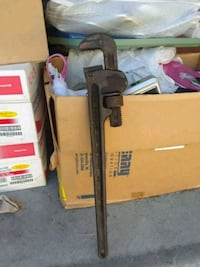 Vintage Rigid 24inch pipe wrench
