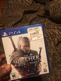 The Witcher Wild Hunt PS4 game case Coventry, 02816