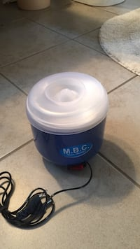blue and white M.B.C. wax heater Surrey, V3X 1R7