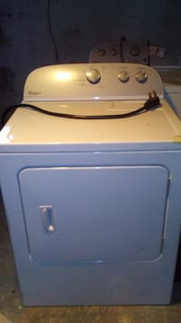 Electric washer.and front load dryer