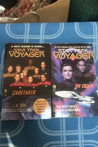 First two Star Trek Voyager novels